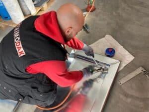 Zinkwerk – dakranden, dakgoten, erkers met soldeerwerk - Primodak Dakdekkers