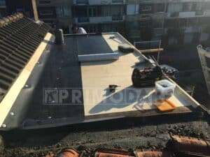 waterdichte dakbedekking bij nieuwbouw